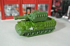 Matchbox Blockade Buster Tank - Green - Loose - 1:64 - MBX Heroic Rescue