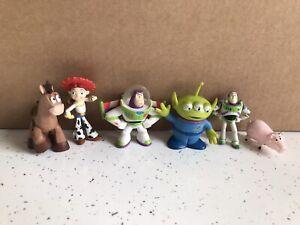 Disney Pixar Toy Story Figure Bundle Buzz Jesse Bullseye Hamm Alien