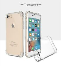 For iPhone 7 Phone Back Case Clear Hybrid Slim Shockproof Soft TPU Bumper Cover
