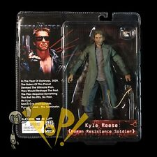 The TERMINATOR Human Resistance Soldier KYLE REESE Action Figure NECA in USA!