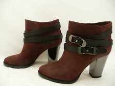 2344524be15 Jimmy Choo Melba Brown Suede Ankle Boots Booties Size 36   6