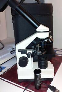 Bresser Microscope Biolux NV 20x-1280x with accessories