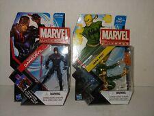 Marvel Universe Shadowland Daredevil & Iron Fist figure lot