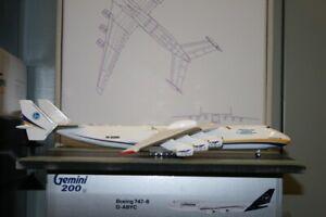 1:200 Scale Antonov AN-225 UR-82060 Die-Cast Model Plane