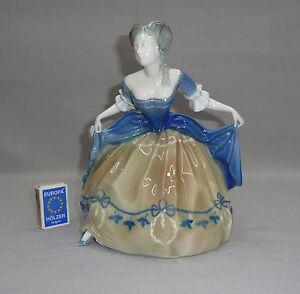 Rosenthal Figur Empire Tänzerin Erna von Langenmantel Reitzenstein 1927 K201