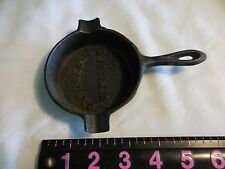 CARDWELL'S  FURNITURE STORES CAST IRON SKILLET ASHTRAY VINTAGE *****