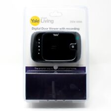 "YALE Digitaler Türspion mit Aufnahmefunktion inkl 512MB SD, DDV 5000 3,5"" YY45"