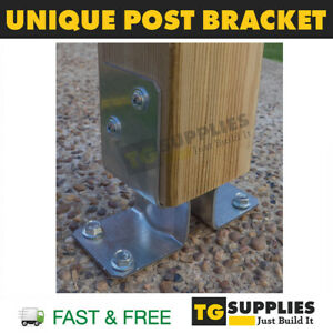 Versatile Bolt Down Post Support Pergola Post Bracket Post Base Post Foot