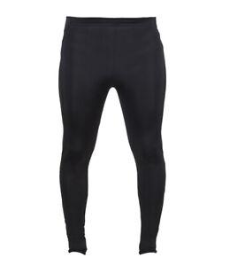 New Mens Tombo Running leggings. Black L/36. J19-36