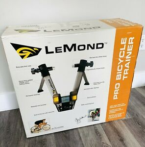 Vintage LeMond Pro Indoor Bicycle Cycling Trainer Stationary