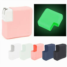 Protective Cover Silicone Case Dustproof for Macbook Notebook Charger 5Colors US