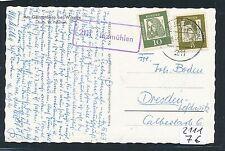93484) Buchholz i.d.N.Landpost Ra1 2111 Inzmühlen, AK 1963