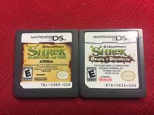 Lot of 2 Shrek Games Children (Nintendo DS) - Tested and Guaranteed