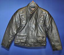 leather motorbike jacket size 34 uk