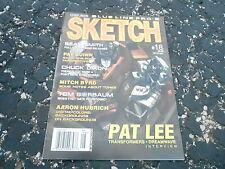 #18 SKETCH comic book art magazine (UNREAD) - PAT LEE