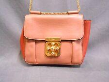 Auth Chloe Pink Beige Orange Elsie 3S0667-593 Leather Shoulder Bag w/ Guarantee