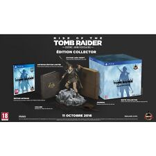 Jeu PS4 - Rise Of The Tomb Raider - 20ème anniversaire Edition Collector (neuf)