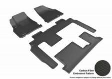 3D MAXpider 09-17 Fits Chevrolet Traverse 1st 3rd Row Floor Mat