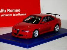 Alfa Romeo 156 Gta 2006 Prova Plain Body Red M4 1:43