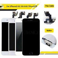 for iPhone 6 6s Plus Retina LCD Digitizer Touch Screen Replacement + Home Button