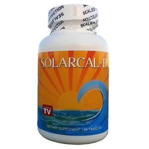 SolarCal D 1500mg Coral Calcium Daily 2000 IU Vitamin D3 90 Pills Best Supreme