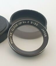 Photax B-30 Close-Up No.2 Bayonet 1 Filter Lens For Rollei/Yashica TLR VGC