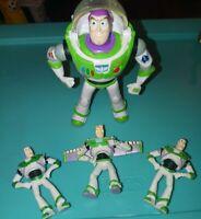 """Disney Pixar Toy Story Buzz Lightyear 5"""" Action Figure w/ 3 (mini Lightyears)"""