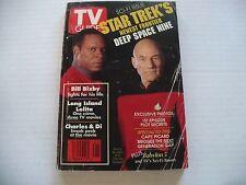 TV GUIDE 1/2-1/8 1993- STAR TREK COVER (WASH/BALT EDIT) PRINCESS DI -BILL BIXBY