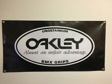 old school bmx oakley bmx Banner 4ft X 2ft vdc hutch gt se racing