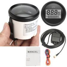 52mm Digital 0-999 Kmh MPH Knot GPS Tacho Tachometer Kilometerzähler Wasserdicht