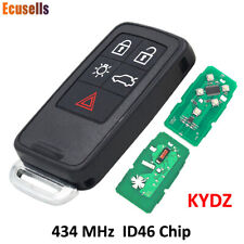 5 Buttons Smart Remote Key for Volvo XC60 S60 S60L V40 V60 434mhz id46 Chip
