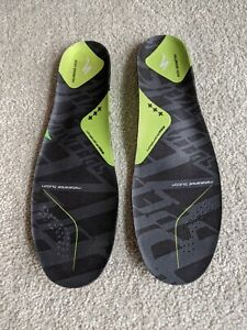 Specialized Body Geometry SL Footbeds Insoles Green EUR 44-45 Pair
