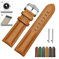 18mm Genuine Leather Watch Strap For FOSSIL Q Venture Gen 3 Replace Watch Band