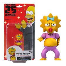 Maggie Simpson in Pink Jumpsuit mini figure The Simpsons NECA NIB NIP New in Box