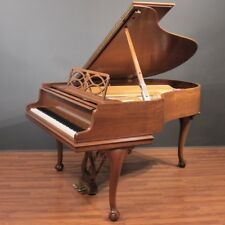Steinway Model M Chippendale 5'7'' Player Grand Piano Walnut PianoDisc/QRS