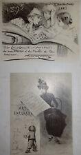 HP DILLON (1850-1909) + Henri BOUTET (1851-1919), LITHOGRAPHIE, MAINDRON, 1897