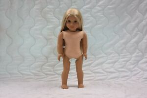 """American Girl Doll Julie 18"""" Nude"""
