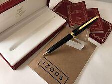 Cartier Louis Cartier Black Composite Godron Mechanical Pencil