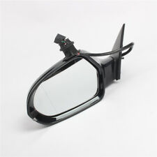 LH Left Side Rear View Mirror Gloss Black Electric Assembly For Audi S6 A6 12-18
