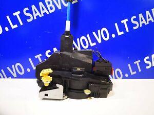 SAAB 9-3 YS3F Front Left Door Lock 12759691 2008 11556820