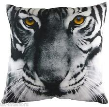43.2cm Tigre chenille de velours coussin tissu - Evans Lichfield