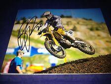 Broc Tickle AMA Supercross Signed 8x10 Photo Motocross Autographed/COA