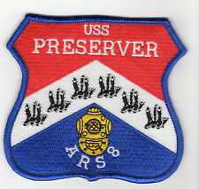 USS Preserver ARS-8 Salvage Ship - 4 inch FE BC Patch Cat No C6398