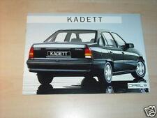 12035) Opel Kadett españa folleto 198?