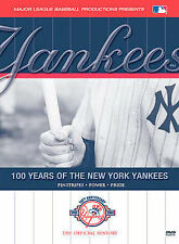 New York Yankees DVD 100 years sealed Baseball Mickey Mantle Sealed NEW