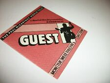 Paul Mccartney World Tour Guest Pass - Mint