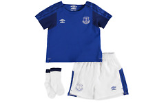 Everton Home Baby Kit 2017/18 Royal/White Age 18-24 Months DH081 VV 07