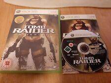 Tomb Raider: Underworld (Microsoft Xbox 360, 2008) Complet avec Manuel