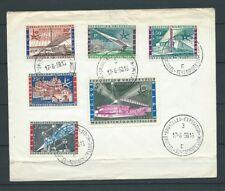 BELGIQUE - LETTRE - 1958 YT 1047 à 1052