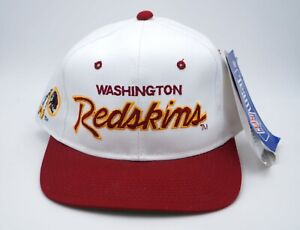 """Washington Redskins NFL Retro Twill Baseball Cap ~ """"Cancelled"""" Franchise ~ Rare!"""